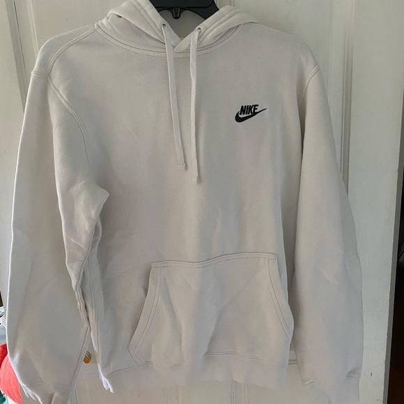 Nike Tops | Womens White Nike Hoodie